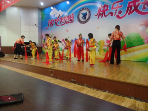 Chinese school students performance