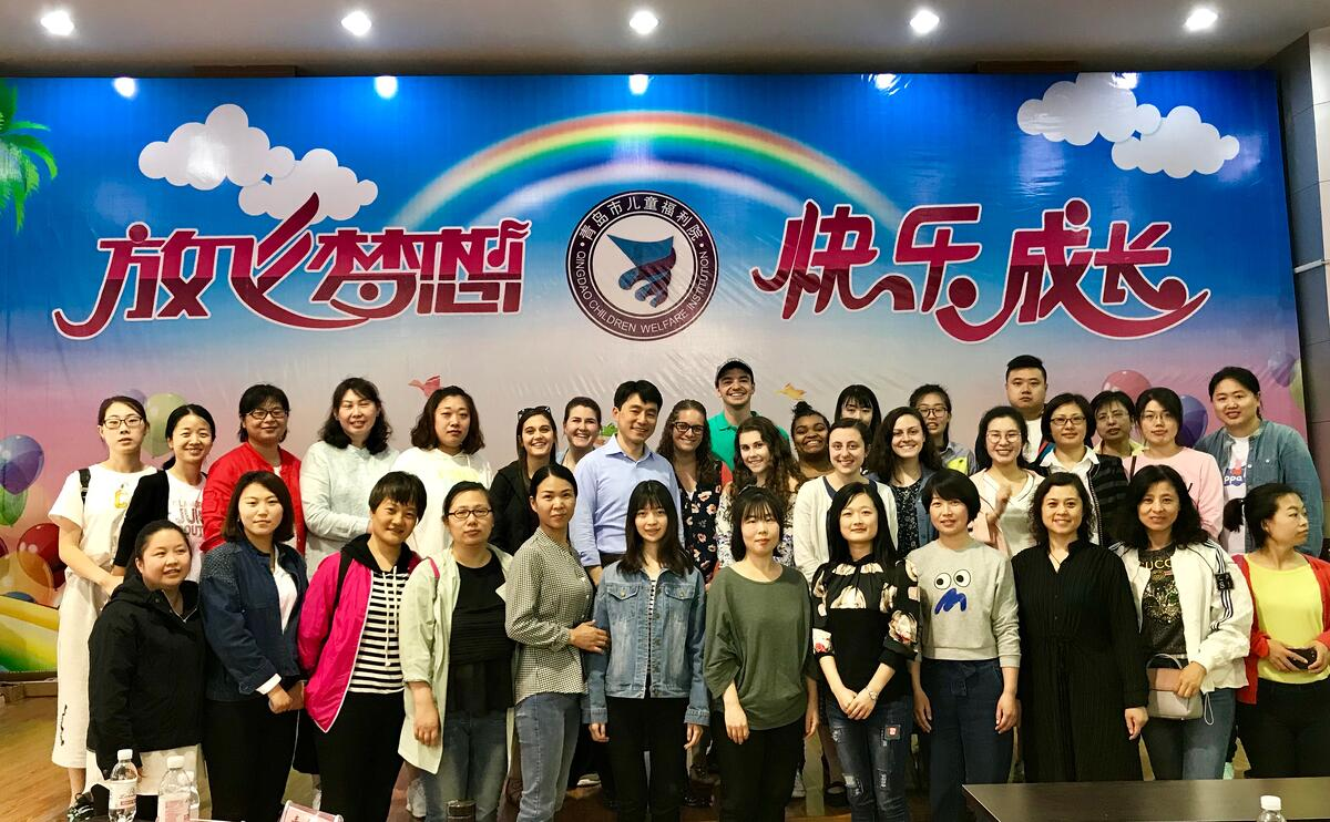 Saint Vincent group with Chinese teachers