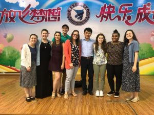 Saint Vincent group in China School