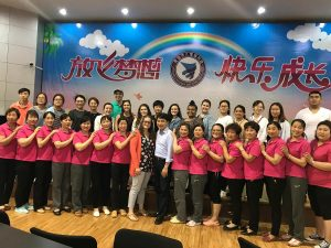 Saint Vincent group with Chinese school staff