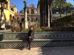 Paige Cesario in Sevilla, Spain