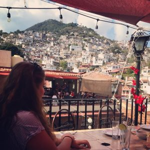 Cristy in Taxco, Mexico